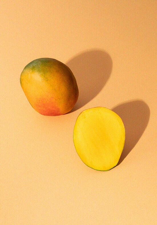 Fresh all natural mangos
