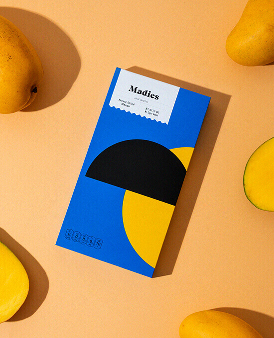 Packaging with mangos